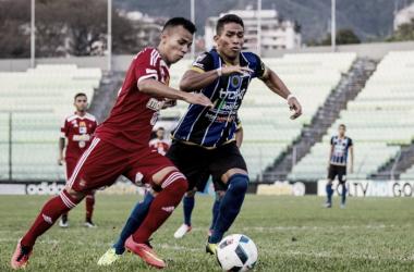 Caracas FC y Mineros De Guayana igualaron en el Olímpico. Fotografía: Prensa Caracas FC.
