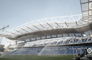 El Estadio de Anoeta antes de la visita del Leganés esta temporada (FOTO://LaLiga)