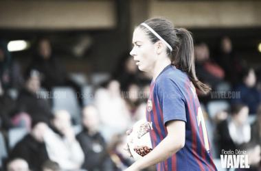 Aitana, jugadora del FC Barcelona Femenino. FOTO: Noelia Déniz