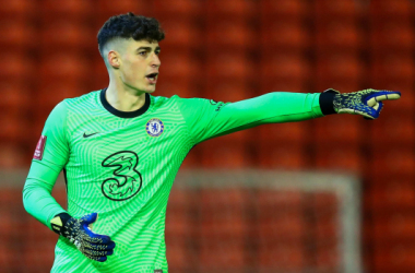 Kepa Arrizabalaga returned to the Chelsea side and was their shoot-out hero once again