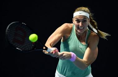 WTA Miami: Petra Kvitova maintains spotless record over Alizé Cornet into third round