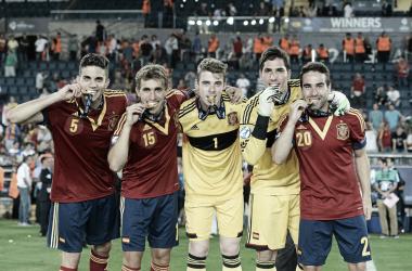 España , la vigente subcampeona de la Eurocopa Sub 21 | Fotografía: UEFA