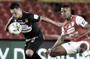 Puntuaciones de Santa Fe en el empate contra Pereira