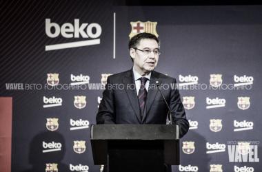 Josep Maria Bartomeu, presidente del FC Barcelona. FOTO: Beto Fotógrafo