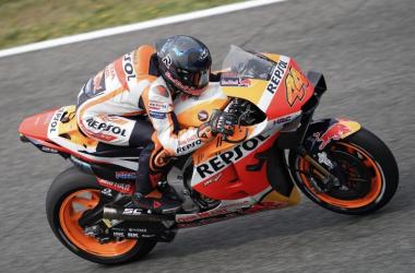 Pol Espargaró rodando en Jerez Foto: Honda Racing Corporation