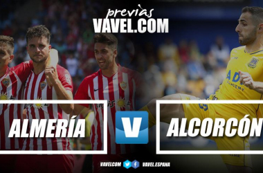 Previa UD Almería vs AD Alcorcón. Fotomontaje: VAVEL
