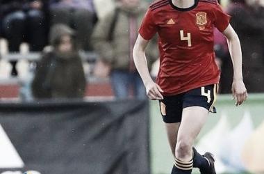 Irene Paredes, directora de la defensa de la Selección Española / Foto: @ireneparedes4