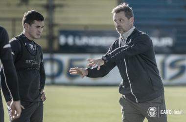 """<p class=""""MsoNormal"""">Maxi Lovera una pieza fundamental en el equipo de Cocca. Foto: Rosario Central.&nbsp;<o:p></o:p></p>"""