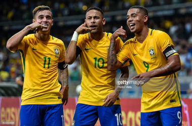 Brazil are one of the tournament favourites for Russia 2018.