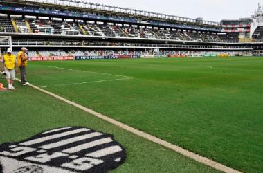 Após recusas de Corinthians e Santos em relação ao Morumbi, o campeão será decidido na Vila (Foto: Reprodução/ESPN)