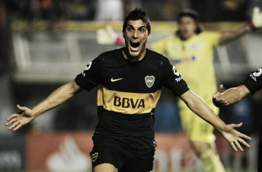 Festejo del único gol del partido // Foto: El Diario 24