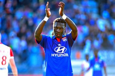 Bafétimbi Gomis a été le déclencheur de cette victoire Lyonnaise - crédits www.olweb.fr