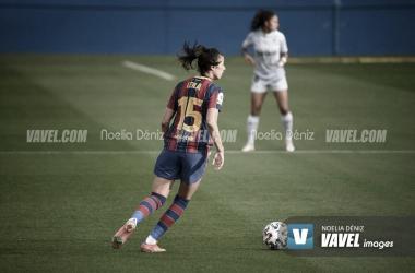 Leila Ouahab en el Johan Cruyff 2021| Foto: Noelia Déniz- VAVEL