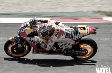 MotoGp Gp Aragon- Vince Marquez in solitaria