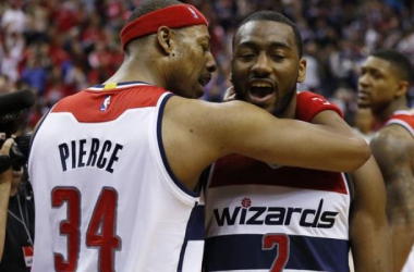 Paul Pierce's Departure Would Put Spotlight Back On John Wall And Bradley Beal In The Clutch