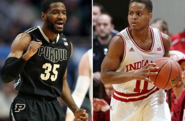 Indiana Hoosiers And Purdue Boilermakers Meet In B1G Rivalry Matchup