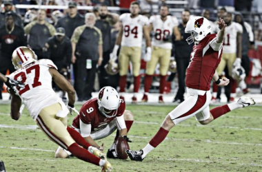 Chandler Catanzaro secures a Cardinals victory with his 34-yard field goal |Source: David Kadlubowski/azcentral sports|