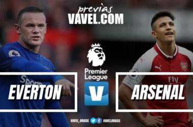 Querendo se aproximar dos líderes, Arsenal encara o Everton fora de casa