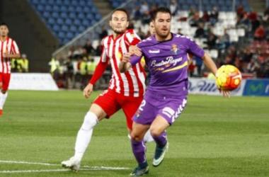 UD Almería - Real Valladolid: puntuaciones del Real Valladolid, jornada 11