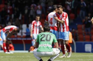 Álvaro Giménez abatido por el resultado | Fuente: La Liga