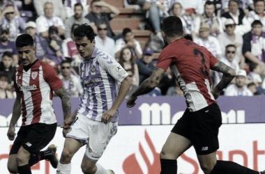 Waldo, elegido mejor jugador por la afición ante el Athletic Club de Bilbao