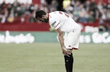 Rodrigo no perdona al conjunto de Montella en el Pizjuán