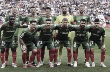 Once ante el Espanyol | Foto: LaLigaSantander
