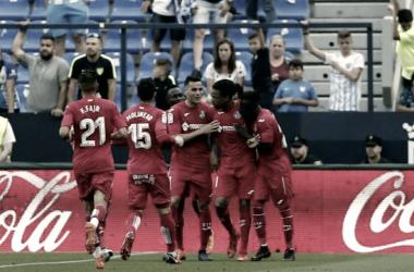 Rémy celebrando el gol del 0-1. / Foto: La Liga