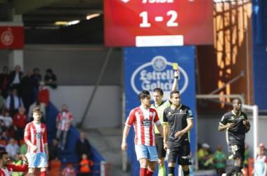 Montoro fue amonestado en el último encuentro frente al Lugo | Foto: La Liga