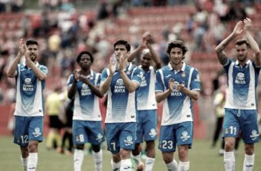 Jugadores del Espanyol | Foto: www.laliga.es