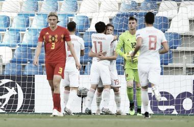 España mantiene sus opciones intactas en el Europeo Sub 21 | Fotografía: UEFA
