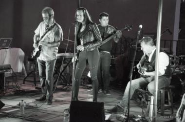 Actuación en la casa del vino, El Sauzal, Tenerife. Fotografía: J. Santana Rafael
