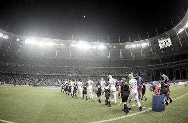 El Arena Fonte Nova, otra escenario con campo deteriorado | Fotografía: CONMEBOL