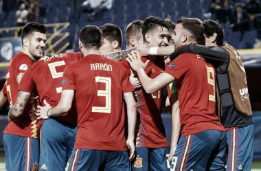 La Sub 21 dio cátedra en la última jornada del grupo A | Fotografía: UEFA