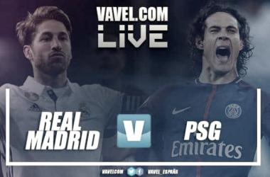 Terminata Real Madrid - PSG, LIVE Champions League 2017/18 (3-1): Cristiano Ronaldo ha rimontato!