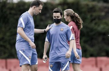Entrenamiento pretemporada 2021-2022 Barcelona-Femení| Foto: FC Barcelona