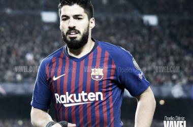 Luis Suárez en un partido con el FC Barcelona. FOTO: Noelia Déniz