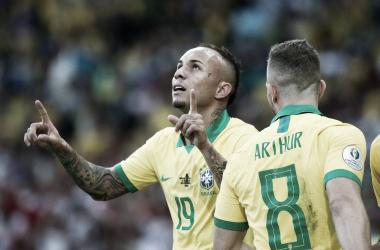 Brasil campeona sudamericana doce años después   Fotografía: CONMEBOL