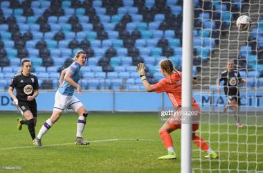 Manchester City Women 2-1 Birmingham City Women: Weir thunderstrike seals a win