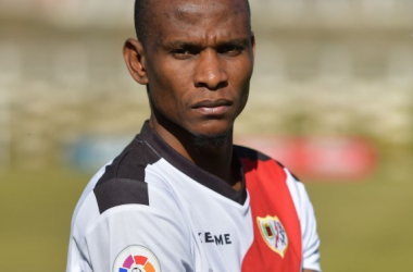 Agbo dará el 1oo% si le toca jugar en el equipo. Fotografía: La Liga
