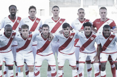 Jugadores del Rayo Vallecano antes de un partido | Fotografía: Rayo Vallecano S.A.D.