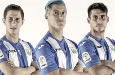 Los capitanes de la temporada 2017/18 | Foto: CD Leganés