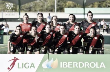 Once del Rayo Femenino para un partido | Fotografía: Rayo Vallecano S.A.D.