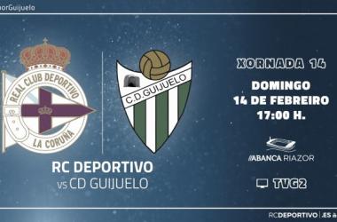 Previa RC Deportivo de La Coruña - CD Guijuelo: es el último tren