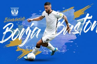 Borja Bastón es el nuevo jugador del CD Leganés | Foto: CD Leganés