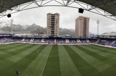 Ipurua, estadio de la SD Eibar. // Foto: SD Eibar