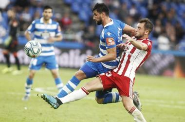 Deportivo - UD Almería: Puntuaciones UD Almería en la Jornada 10 Liga Smartbank