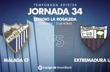 Previa Málaga CF - Extremadura UD: la obligación de sumar