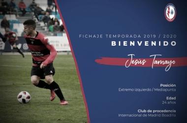 Jesús Tamayo ficha por el CF Rayo Majadahonda