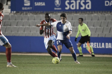 El CE Sabadell cedió un empate en los instantes finales ante el CD Lugo (1-1) | Foto: CE Sabadell FC